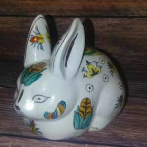 Rabbit ceramic accents